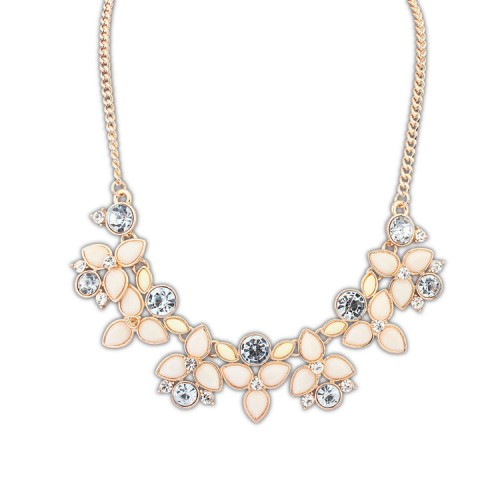 Halsband - Blossom beige