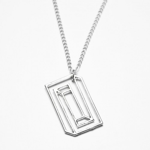 Science - halsband Silver