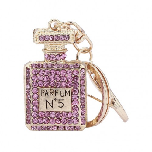 Lyx Nyckelring parfymflaska - Rosa