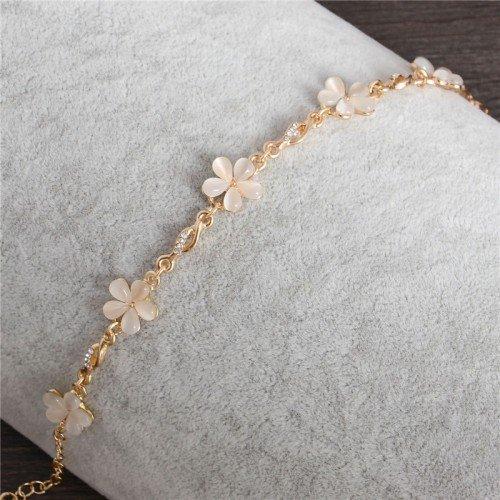Armband guldblommor