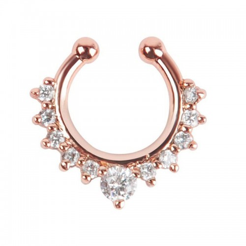 SEPTUM FAKEPIERCING KULOR - ROSE