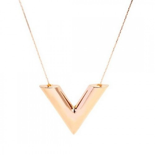 Necklace Gold V - Gold
