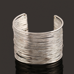 Indian Style - Armband Silver