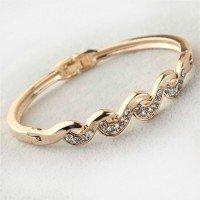 Armband Pläterad I Bronze Guld