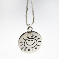 You Are My Sunshine - Silver Halsband